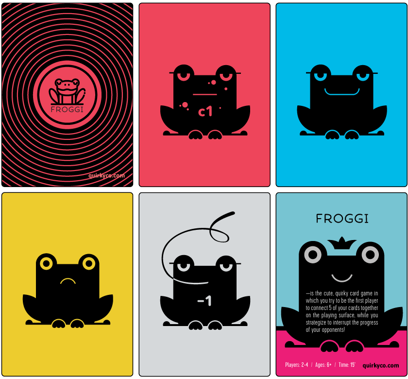 Froggi Cards