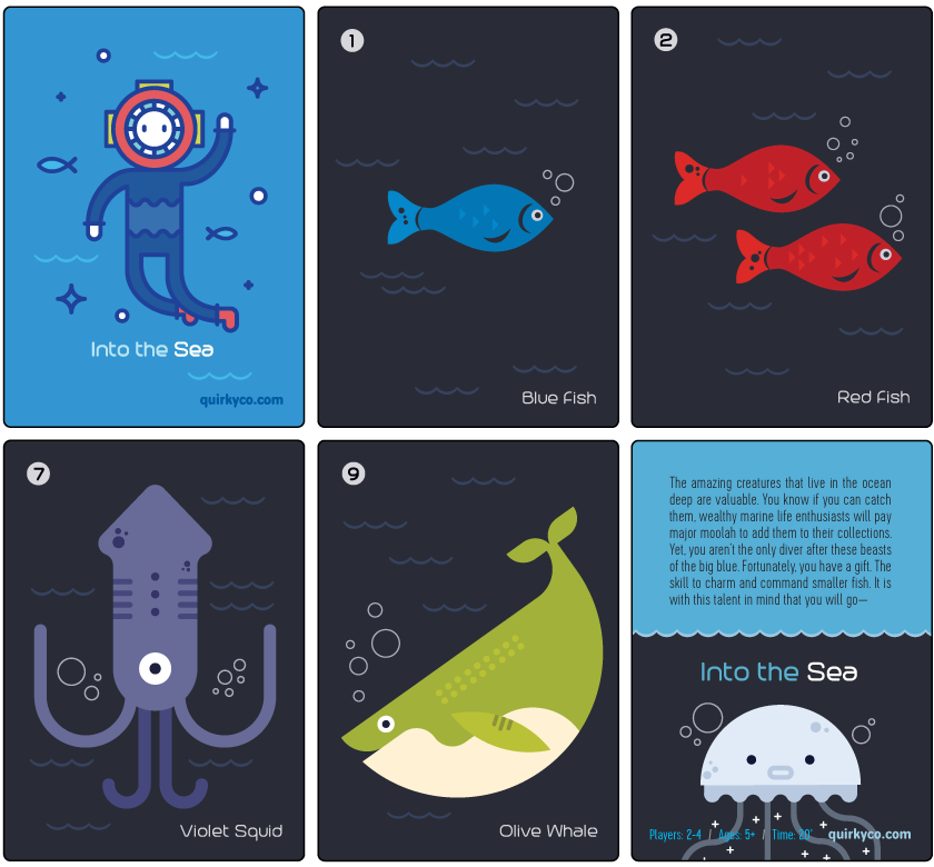 Into the Sea Cards