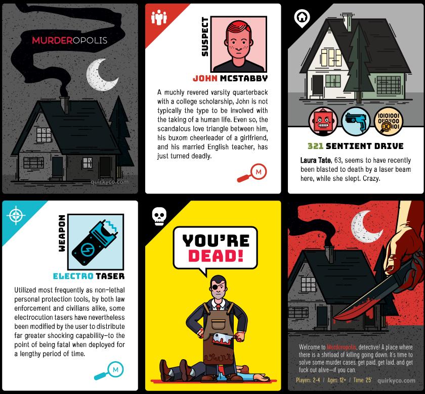 Murderopolis Cards
